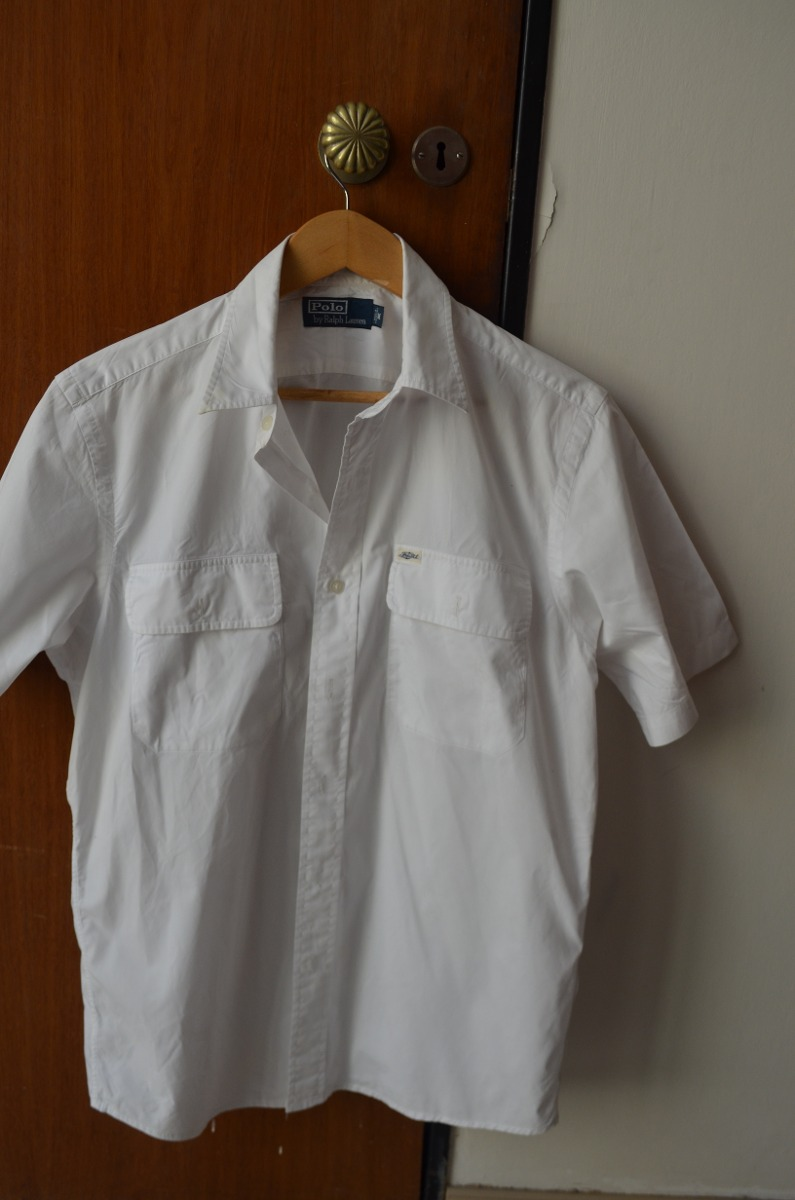 dd45a46cab784 Camisa Blanca De Hombre