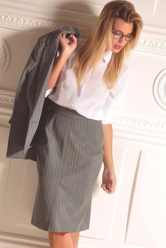 camisa blanca de vestir talles 38 al 50 (xs al xl) giacca
