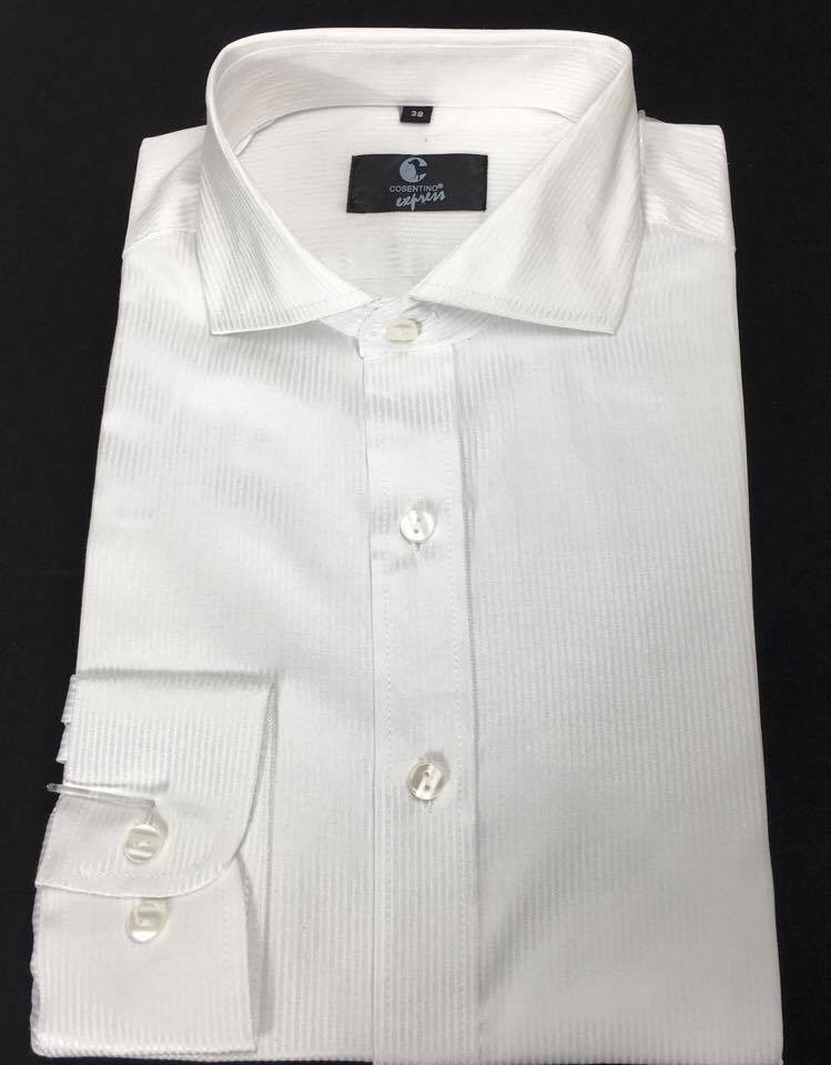 camisa blanca de vestir casual manga larga hombre matako s. Cargando zoom. 018e25c764d