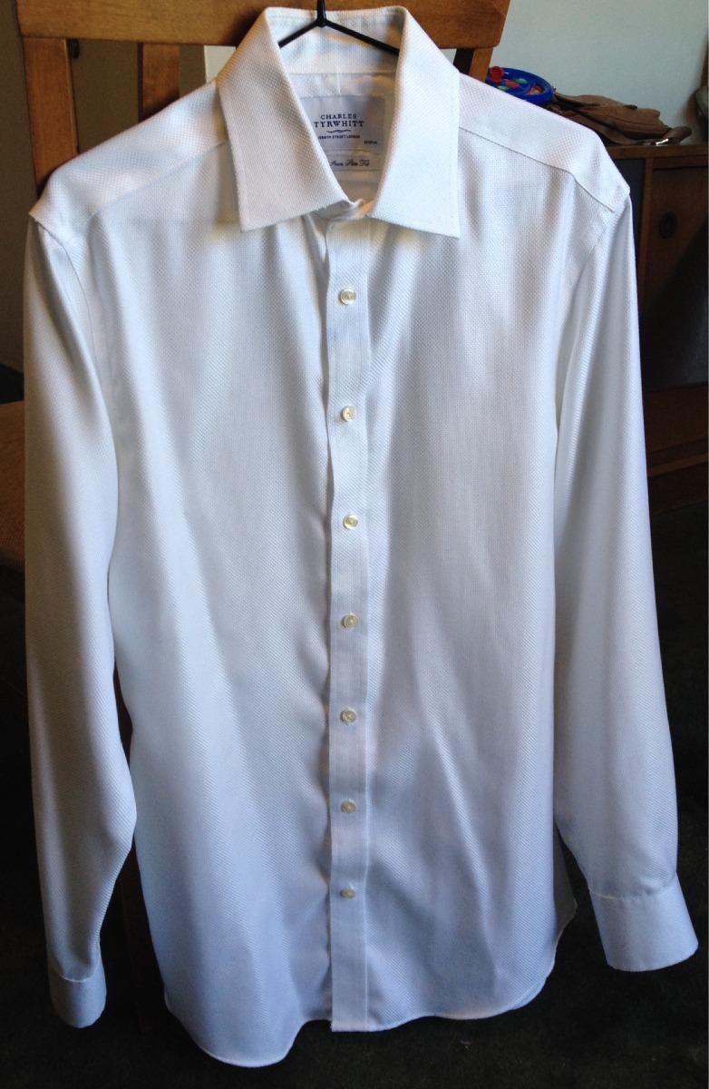 213fbc9af581a camisa blanca fantasia importada exc calidad hombre t.40. Cargando zoom.