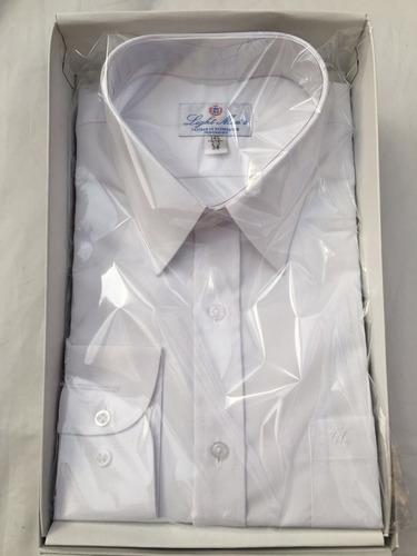 camisa blanca hombre extra grande