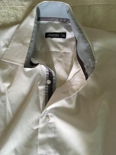 camisa blanca importada  delaveine t3 39/40