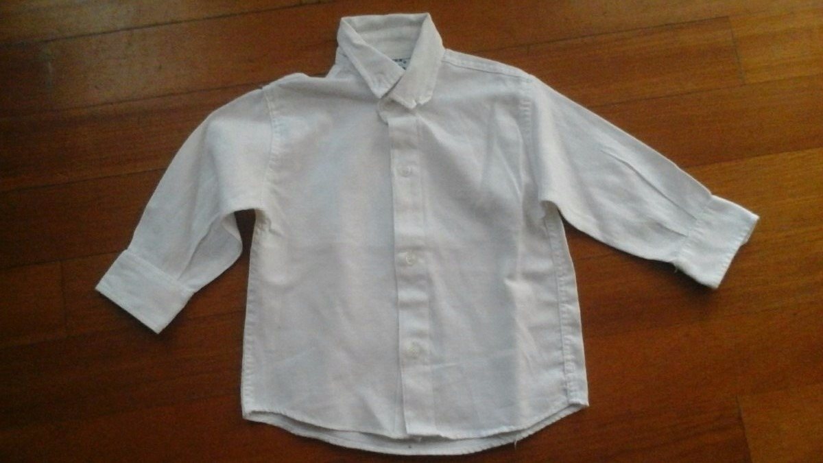 fed8d22df camisa blanca lisa de bebe talle 6 meses. Cargando zoom.
