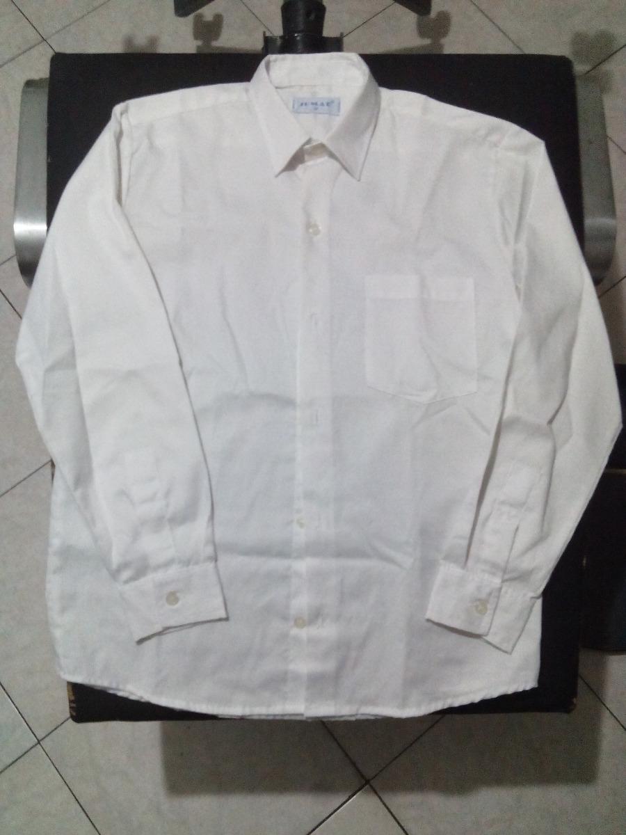 217f24a7b7272 Camisa Blanca Manga Larga De Vestir Niño Talla 12 Usada - Bs. 21.000 ...