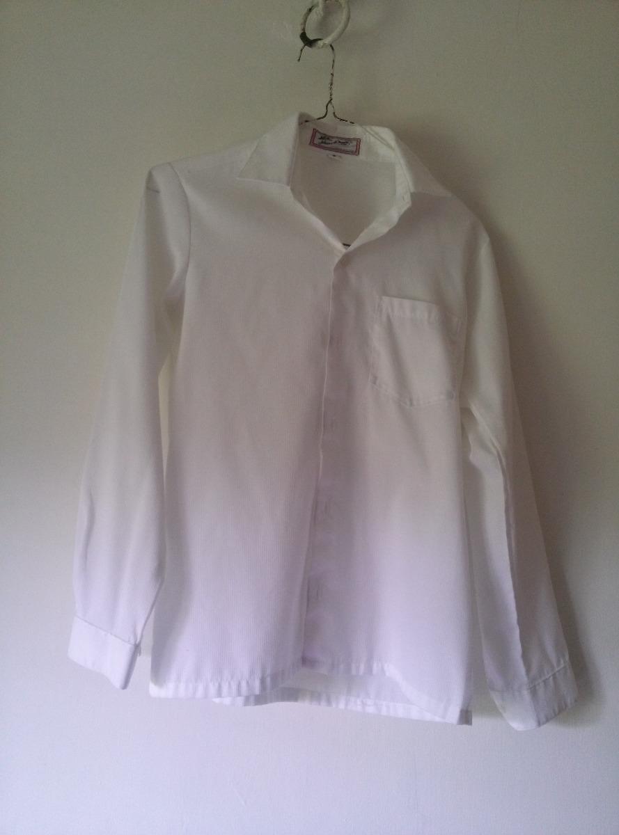 dae338b94 camisa blanca manga larga para niño talla 16. Cargando zoom.
