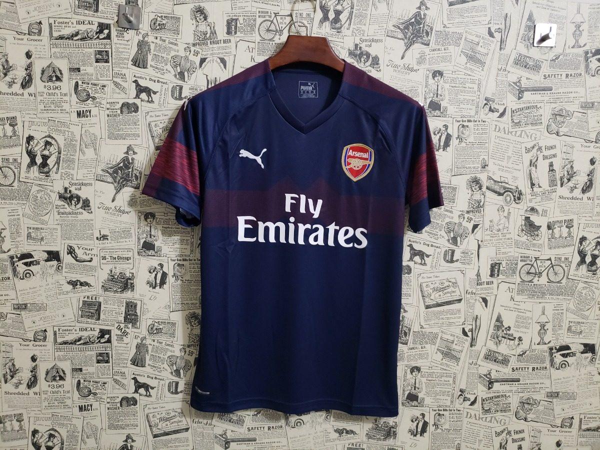 camisa blusa adulto time futebol europeu arsenal 2018. Carregando zoom. 6c4c7cf2683d0
