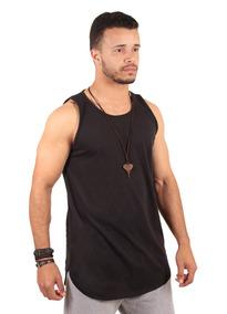 135d96e587 Camisa Blusa Camiseta Roupas Regatas Masculina Longline
