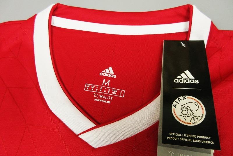78952290caaa3 Camisa Blusa Camiseta Time Futebol Ajax Holanda 2018 Adulto - R  149 ...