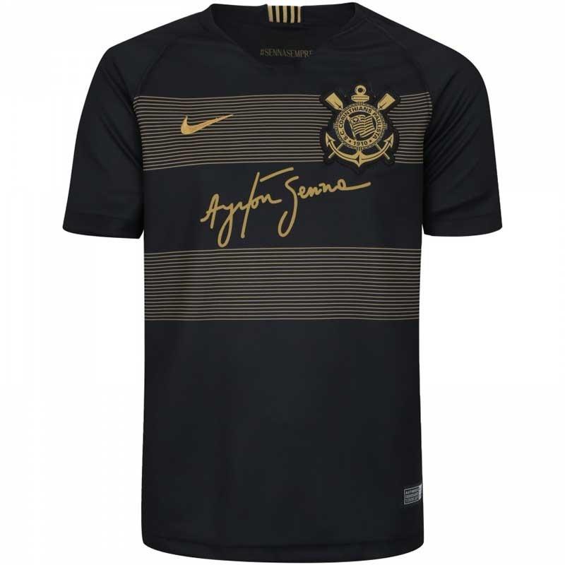 Camisa Blusa Camiseta Time Futebol Corinthians Adulto 2018 - R  144 ... 8b429e25edc21