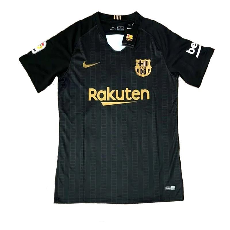 ad2cb95db1 camisa blusa concepção preta e dourada barcelona adulto 2018. Carregando  zoom.