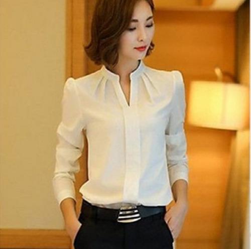 camisa blusa ejecutiva casual todas tallas variedad colores