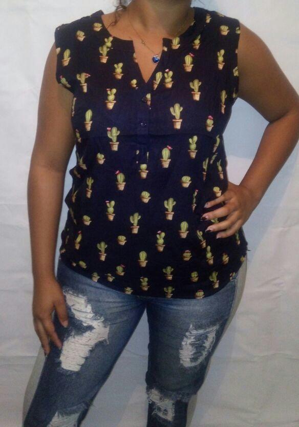 f22777efc2 camisa blusa feminina tecido modelos social barata + brinde. Carregando zoom .