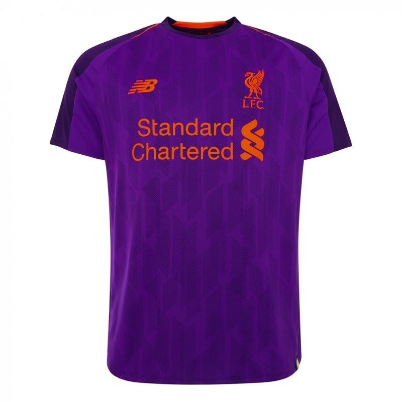 camisa blusa futebol europeu liverpool away adulto 2018. Carregando zoom. 6053a93ec2fbf