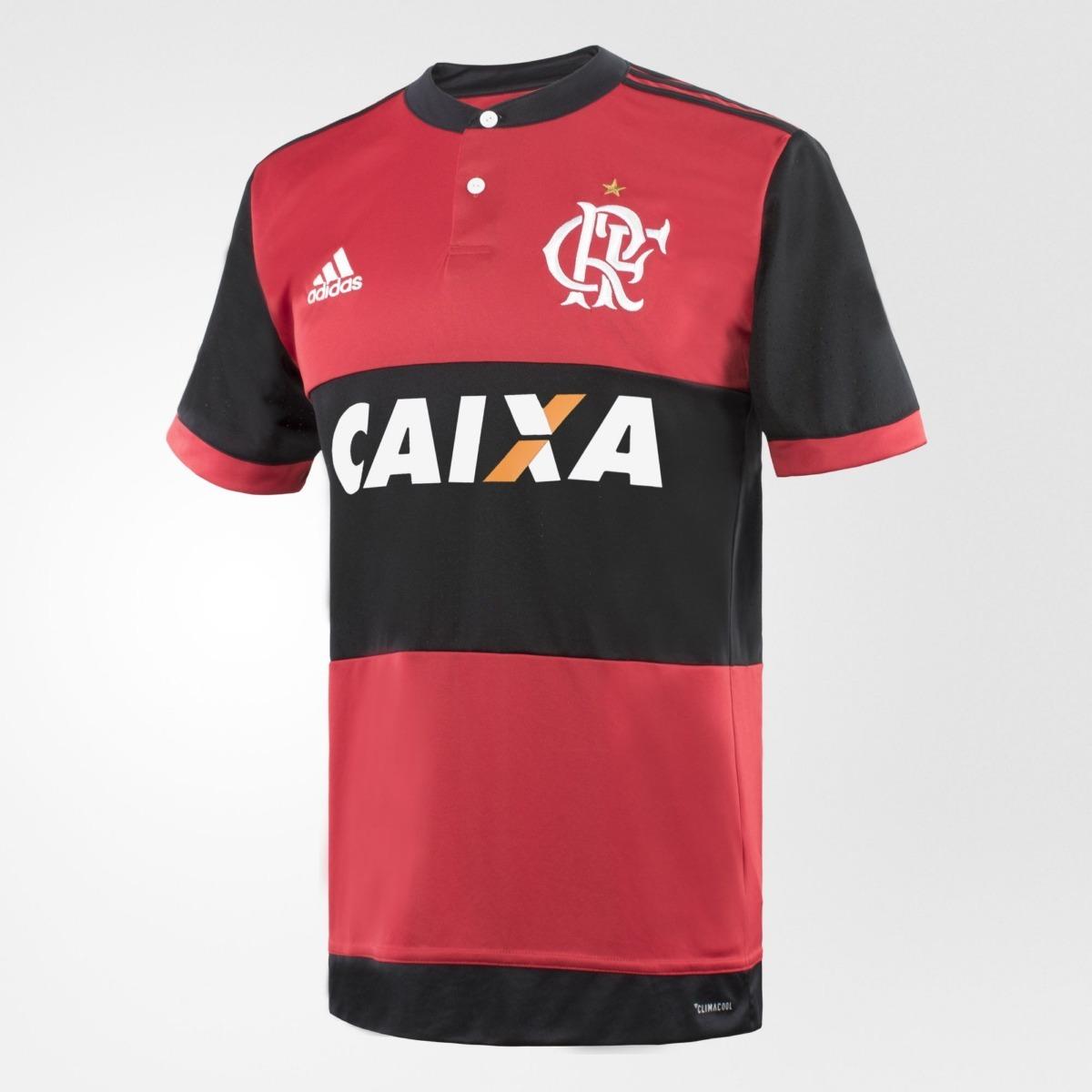 camisa blusa futebol flamengo adulto adidas oficial. Carregando zoom. 29686fab257bd