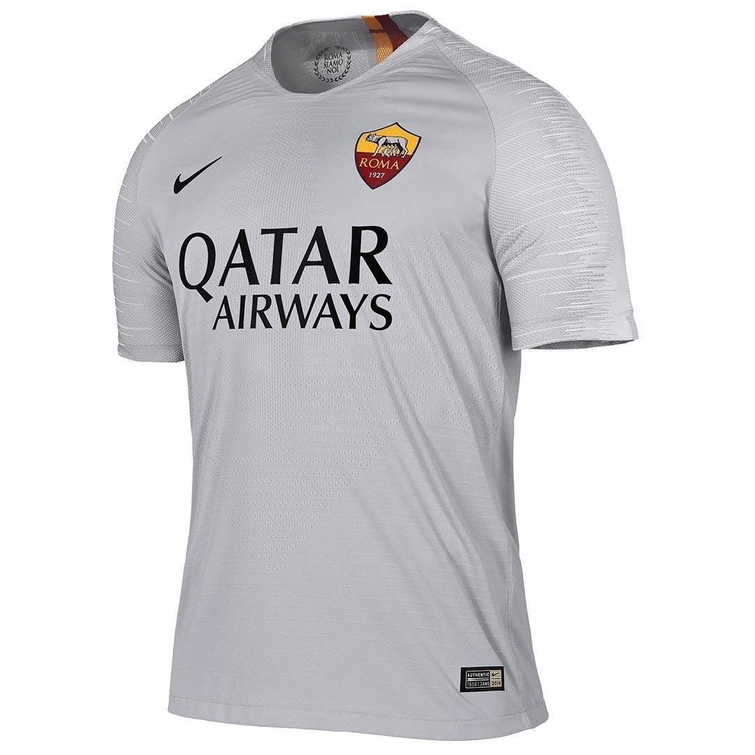 Camisa Blusa Futebol Roma Away Adulto Jogador 2018 Encomenda - R ... 42fbef9bc72d0