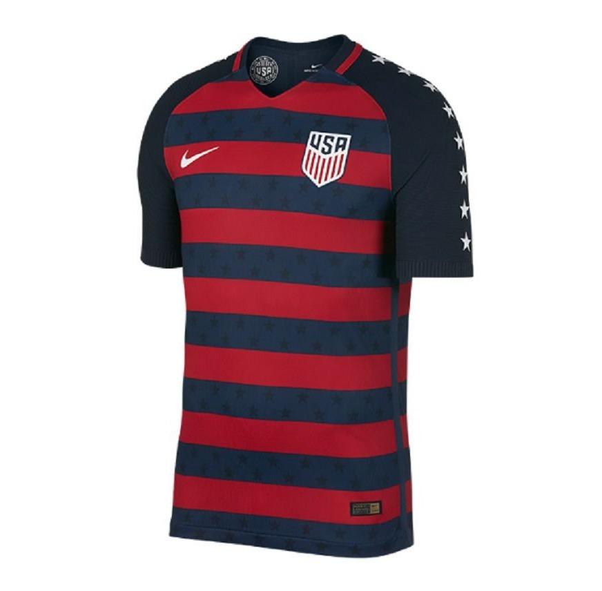 Camisa Blusa Futebol Seleção Estados Unidos Copa Ouro 2017 - R  120 ... 3d5a5a78fa155