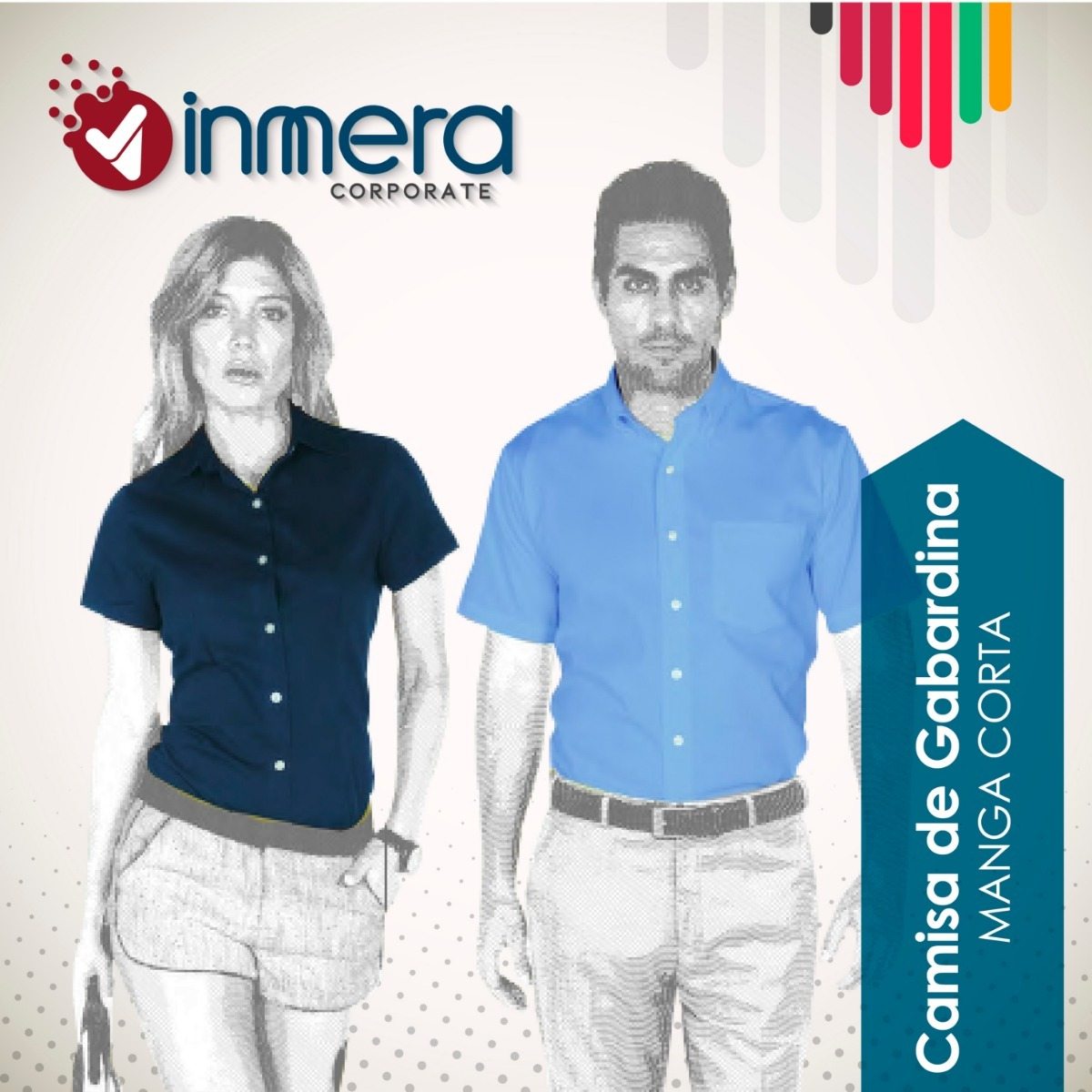 Camisa Blusa Gabardina Yazbek Empresas Manga Corta -   229.00 en ... 4e44e5123acef