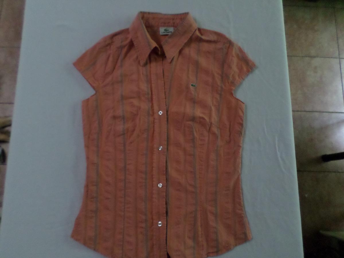 87124259658 camisa blusa lacoste talle 40   m de mujer. Cargando zoom.