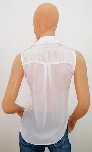 camisa blusa mujer sin