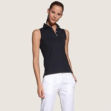 5265e3e89 Camisa Blusa Polo Sem Manga Tommy Hilfiger Varias Cores - R$ 89,90 ...