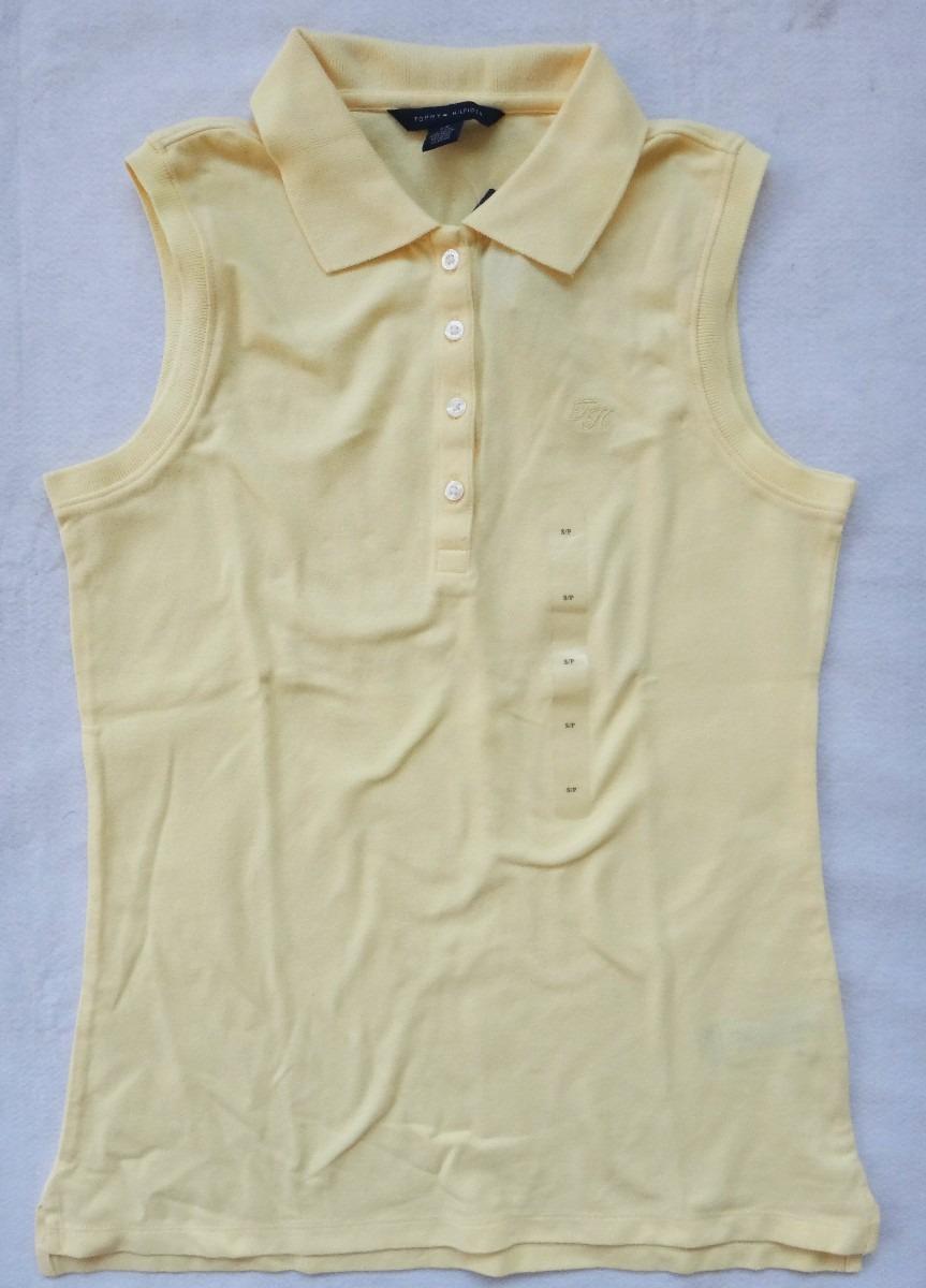 5d11f8cdc camisa blusa polo sem manga tommy hilfiger varias cores. Carregando zoom.