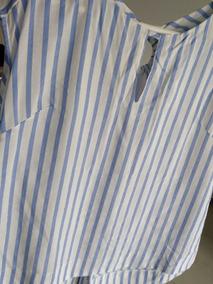 a5f4d566b Camisa Blusa Rayada Elegante