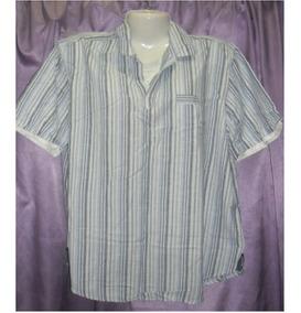 5f19da721 Camisa Blusa Rayas Falsa Camiseta 2xl Talle Grande Especial