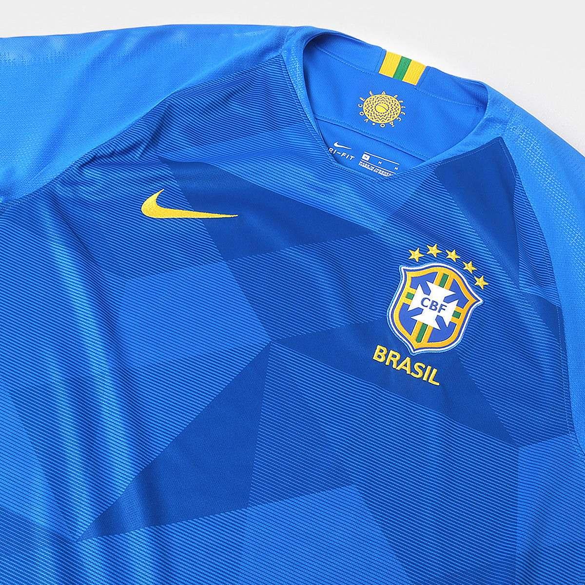 Camisa Blusa Seleção Brasileira Adulto 2018 Copa América - R  179 b62c6019e261c