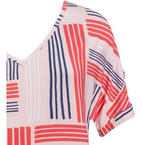 camisa blusa social manga curta estampada seiki 231646 orig.