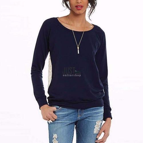 camisa blusa suéteres para dama con encaje