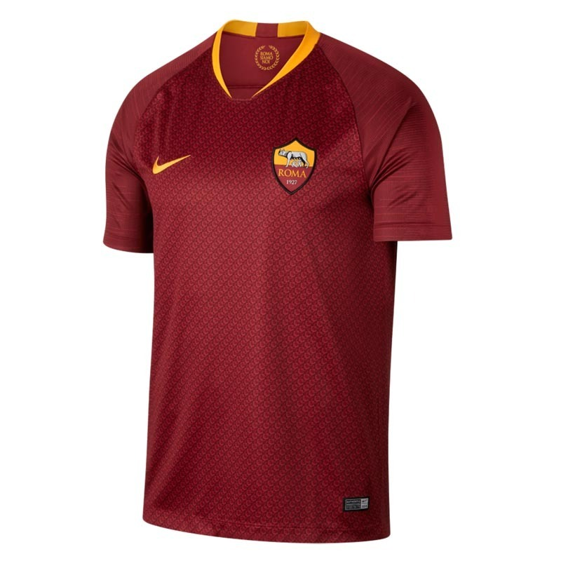 37a65e4f25 Camisa Blusa Time Futebol As Roma Home Adulto 2018 - R  139