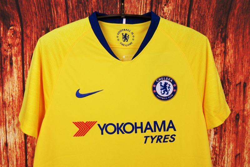 b6069dba64fa2 camisa blusa time futebol chelsea home adulto 2018 amarela. Carregando zoom.
