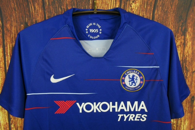 d2daf39959fc8 Camisa Blusa Time Futebol Chelsea Home Adulto 2018 Azul - R$ 159,90 em  Mercado Livre