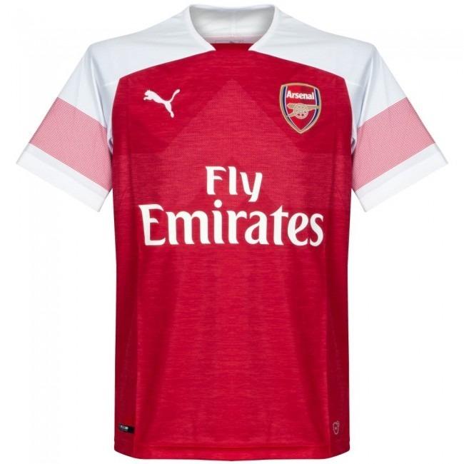 Camisa Blusa Time Futebol Europeu Arsenal 2018 Adulto - R  149 1a926981234c1