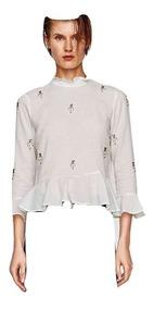 7fd6728d8 Camisas Zara - Blusas de Mujer S en Mercado Libre Argentina