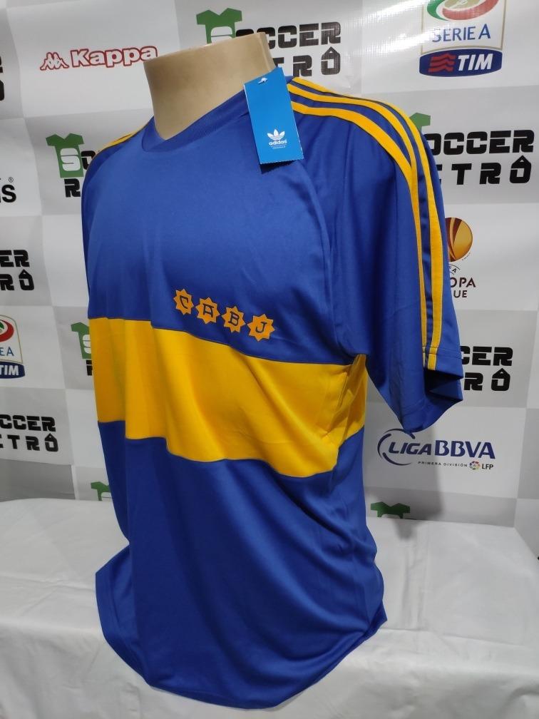 the best attitude e24d1 476e6 Camisa Boca Juniors 1981 Maradona 10 À P/ Entrega