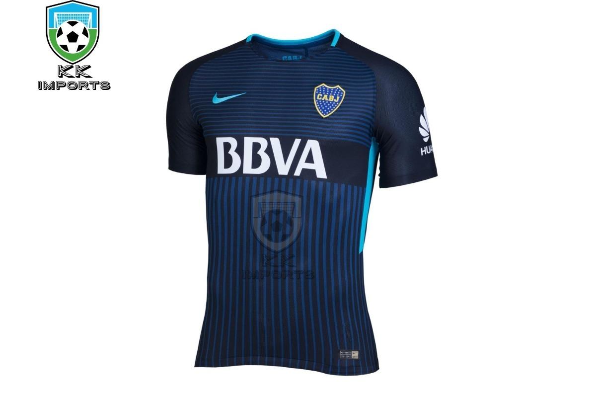 7f9a0cb45edc0 camisa boca juniors 2017 2018 uniforme 3 sob encomenda. Carregando zoom.
