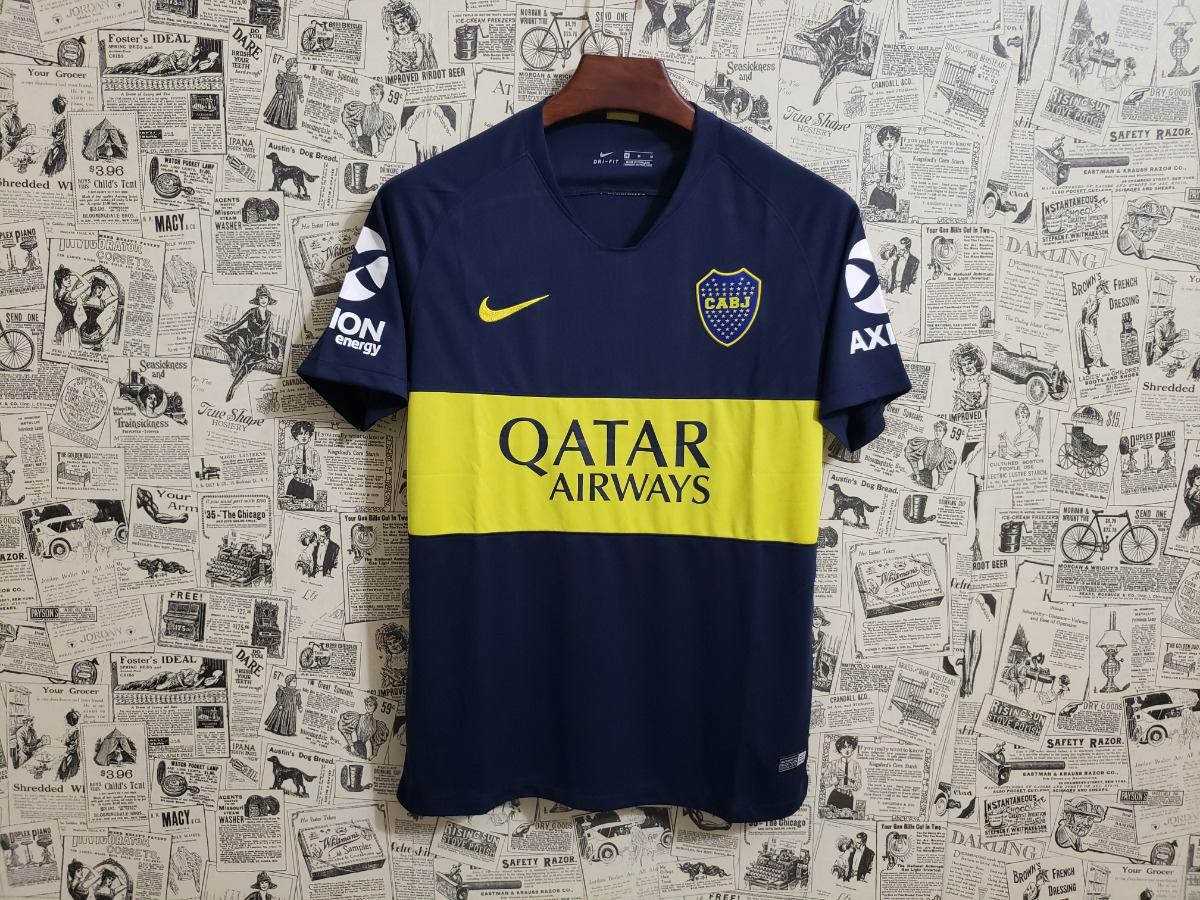 Camisa Boca Júniors 2018 S n Nike Oficial Torcedor Masculina - R ... ea1012dc14536