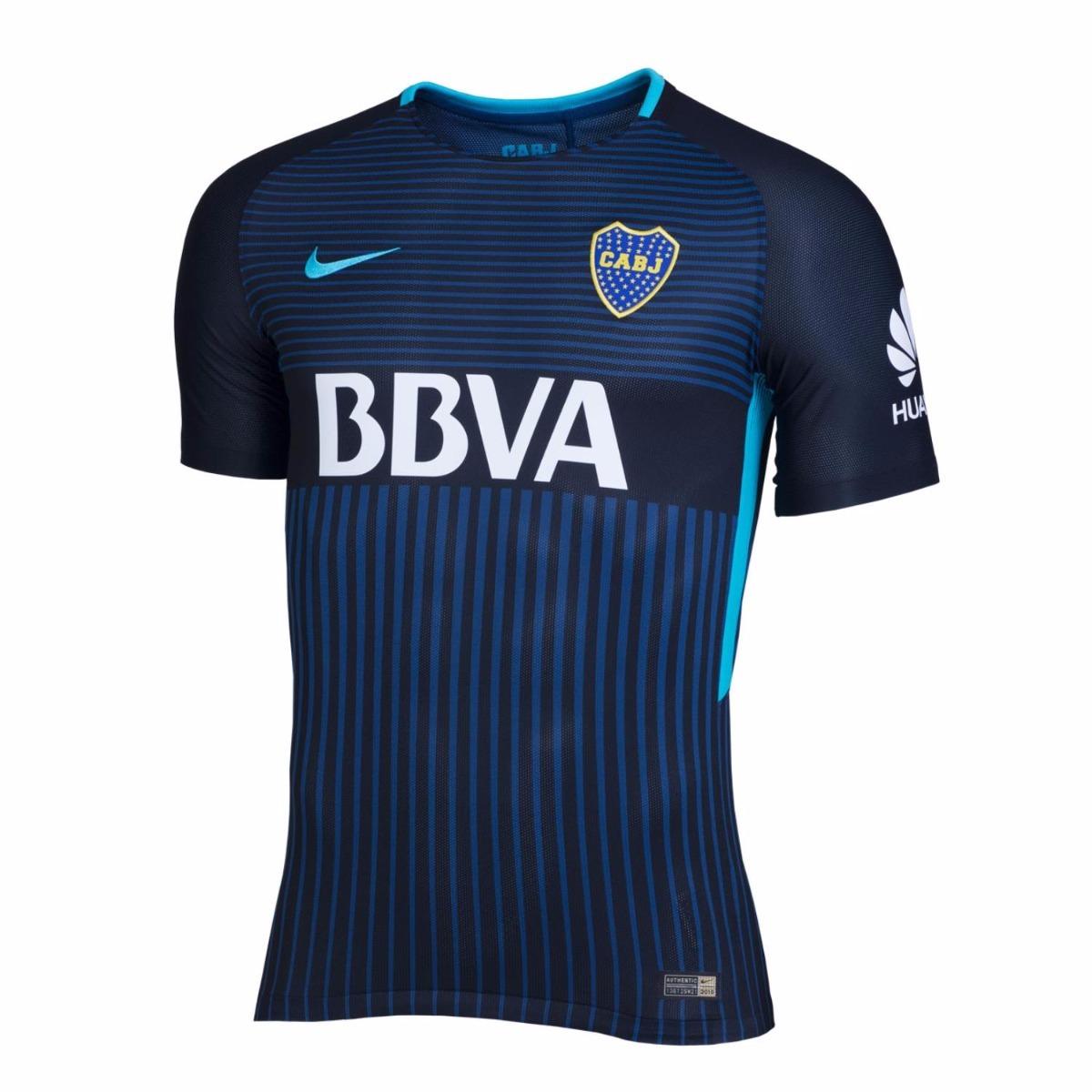 camisa boca juniors 3rd - unif 3 - 2017 2018 - frete grátis. Carregando  zoom. 2fffe37b95c23