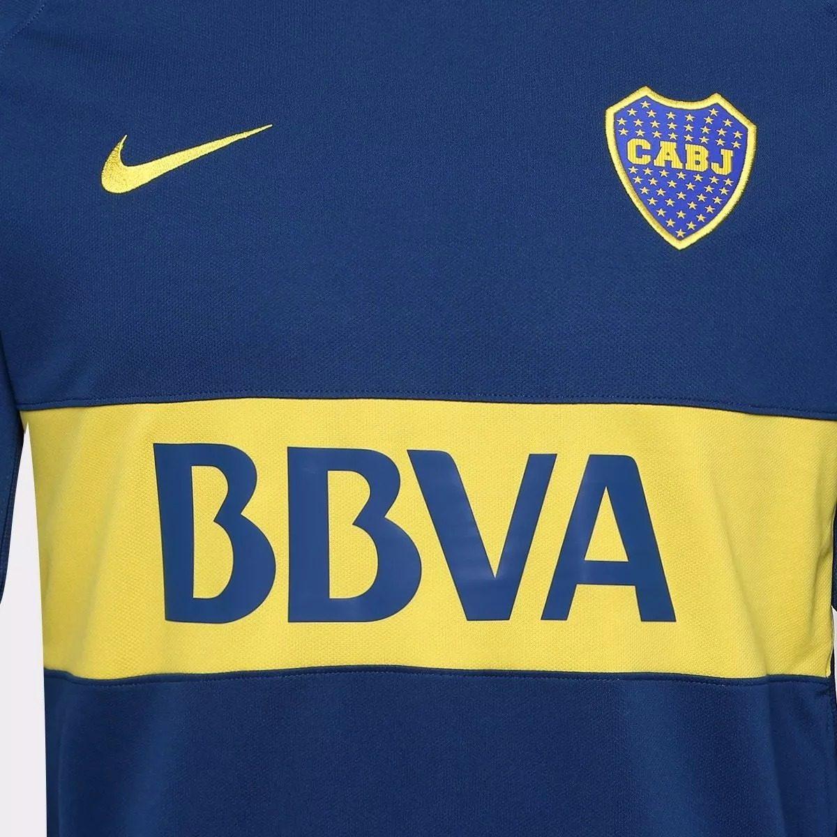 camisa boca juniors home 17 18 s n°- torcedor azul amarela. Carregando zoom. 1dc2887211361
