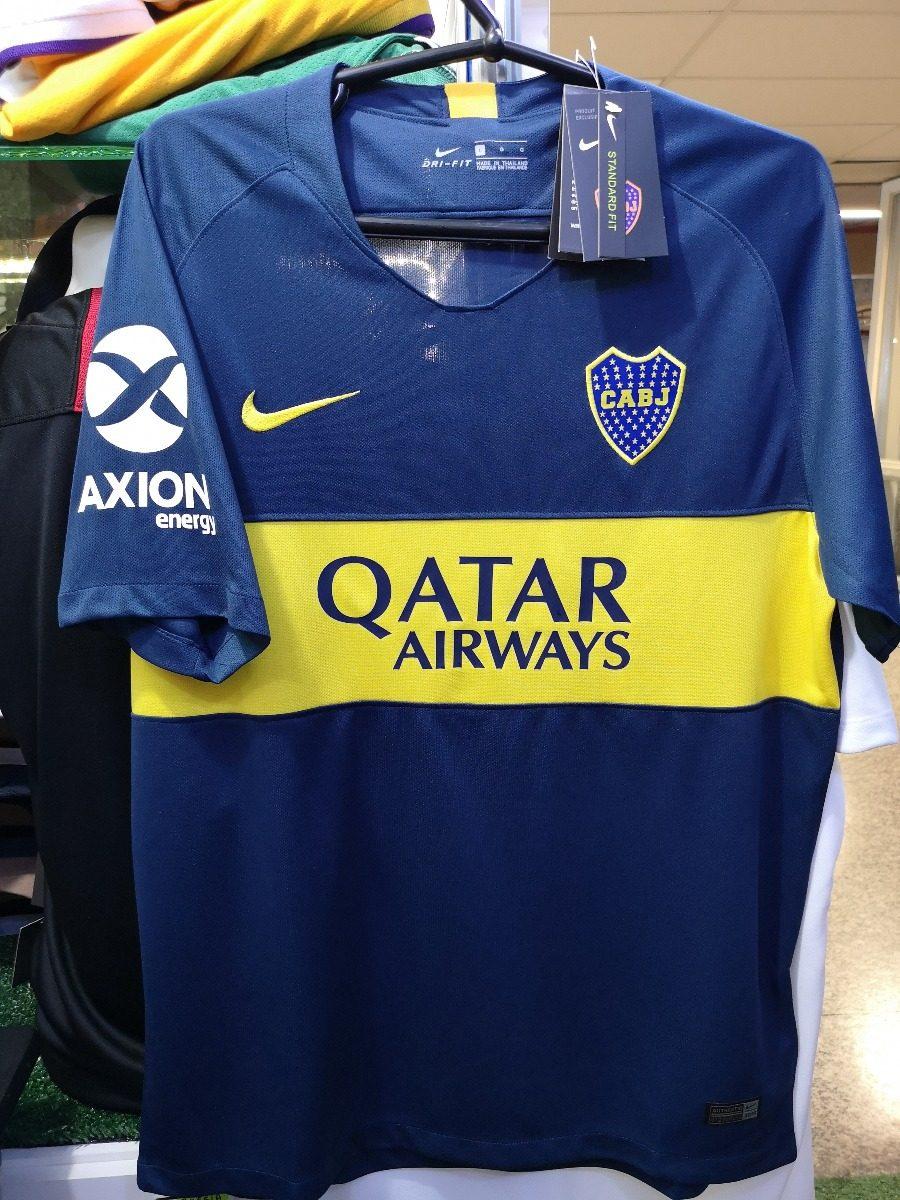 Camisa Boca Juniors Home 18 19 Nova A Pronta Entrega - R  130 498de0ad1466e
