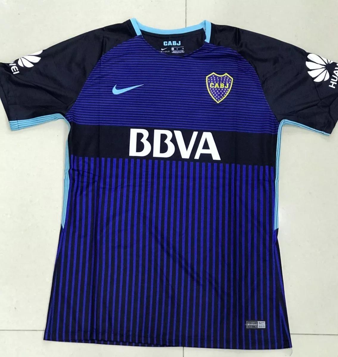 camisa boca juniors home 2017-2018 s n°- torcedor nike azul. Carregando  zoom. b285f41e459d4