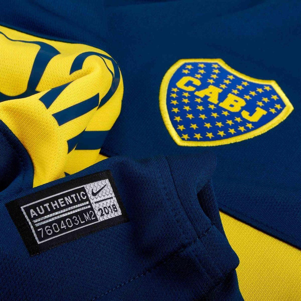 Camisa Boca Juniors Nike  58717fb1afe89