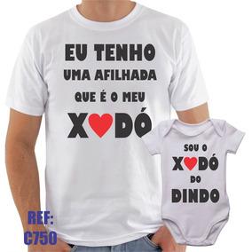 174e3cfbeb Eu Sou Da Dinda E Do Dindo - Camisetas no Mercado Livre Brasil