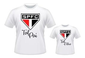 ef3a5f300d5a2e Camisa + Body São Paulo Tal Pai Tal Filho Futebol Time