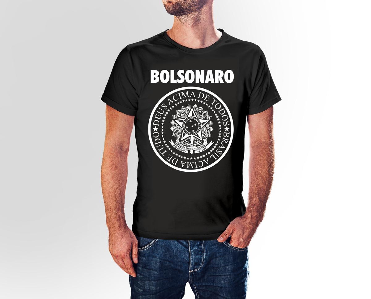 c528b0deb7 Camiseta Bolsonaro Presidente Preta Vrias Cores R 2190