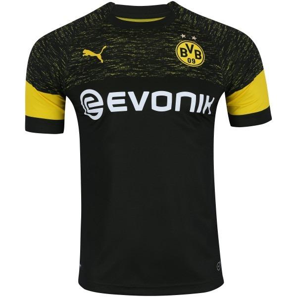 e0caacadaf Camisa Borussia Dortmund 18 19 S n° Oficial Torcedor Puma - R  139 ...