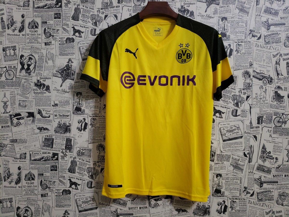 b1ab17ecd7 Camisa Borussia Dortmund 18 19 S n Torcedor Masc P entrega - R  149 ...