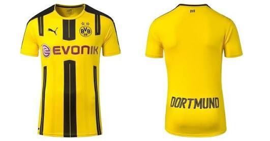27f4eb40d Camisa Borussia Dortmund 2017 Puma Home - R  79