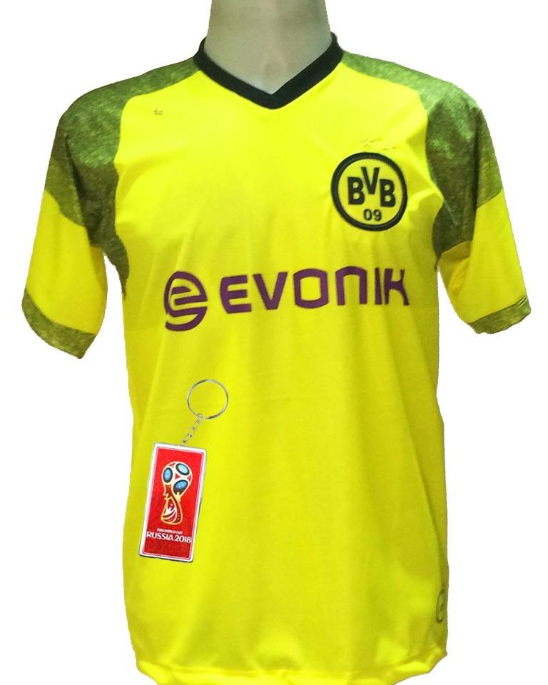 camisa borussia dortmund amarela nova 2018 2019 lançamento. Carregando zoom. beb30f946cef9